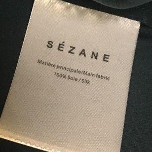 Sezane Tops - Sézane Boy Shirt - Teal Color